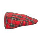 Red Padded Tartan Flat Cap  Scontato €. 16,92